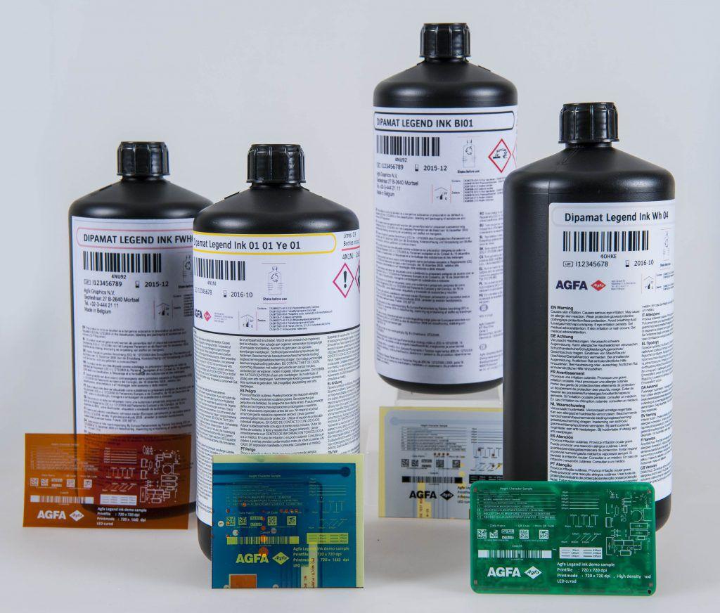 Маркировочные чернила для струйной печати на печатной плате