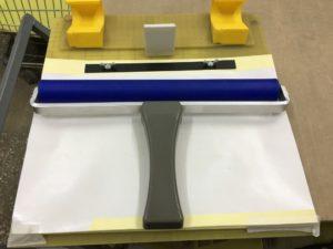 антистатический ролик с липкой бумагой
