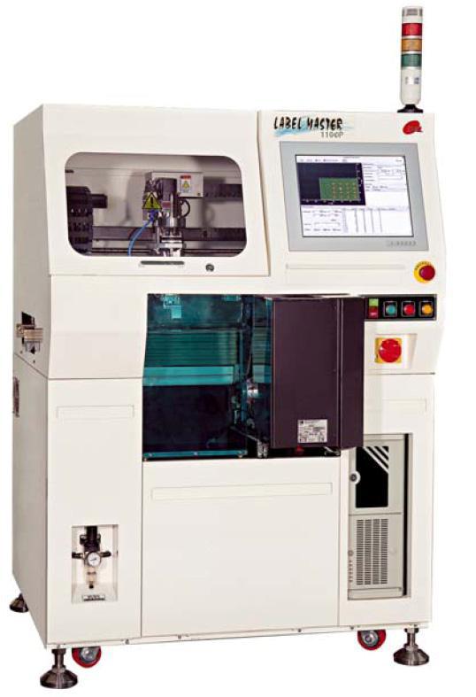 Автоматическая система для печати и маркировки печатных плат этикетками