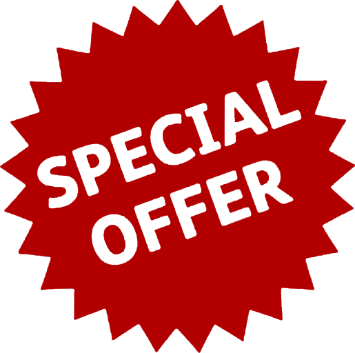 Special offer for equipment