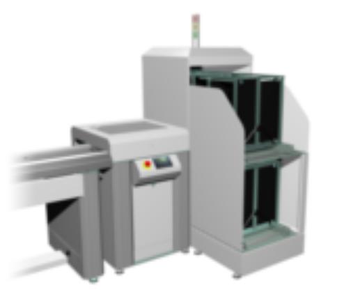 Автоматический разгрузчик печатных плат с магазина MB801