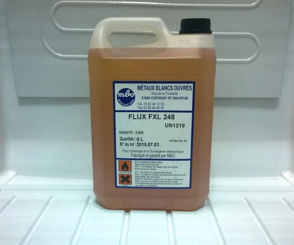 Жидкий флюс MBO FXL 248