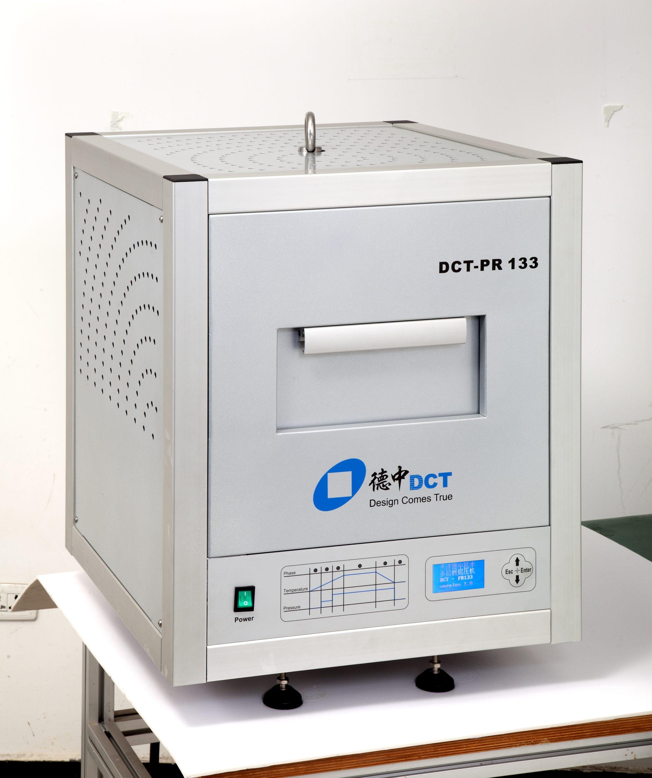 Настольный пресс для производства многослойных печатных плат МР300