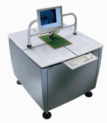 Полуавтоматическая установка сверления базовых отверстий в односторонних печатных платах и фотошаблонах SDM 10 PIERGIACOMI